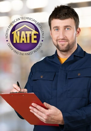 For your Furnace repair in Ponca OK, trust a NATE certified contractor.